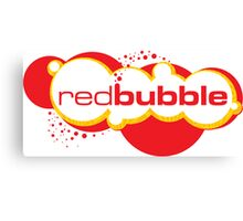 Red Bubble Logo Canvas Print