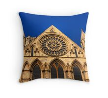 Gothic Cathedral Throw Pillow