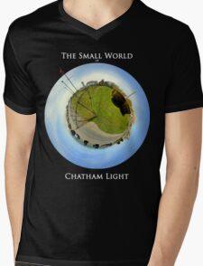 The Small World of Chatham Light Mens V-Neck T-Shirt