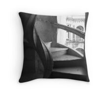 Knight's Stairs Throw Pillow