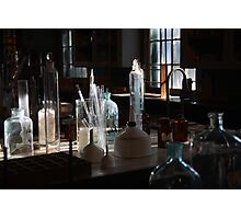 Who's lab?   SOLVED Photographic Print