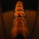 A Newton Cradle Blur by Honor Kyne