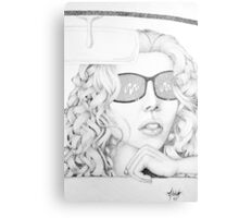 'cadillac chic' Canvas Print