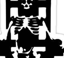 Seshkeleton Sticker