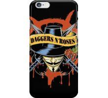 DAGGERS N´ ROSES iPhone Case/Skin