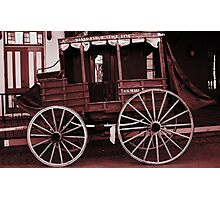 Wells Fargo Stage Line Photographic Print