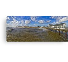 Southwold from the Pier Canvas Print