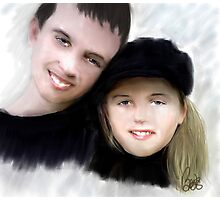 Jay and Kaylee 2 Photographic Print