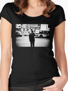 Road Cross Women's Fitted Scoop T-Shirt