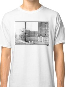 photo fade building Classic T-Shirt