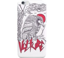 V is for Vulture iPhone Case/Skin