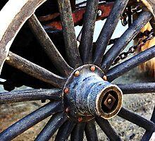 1850 Wagon Wheel by Polly Peacock