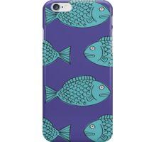 Retro Fish iPhone Case/Skin