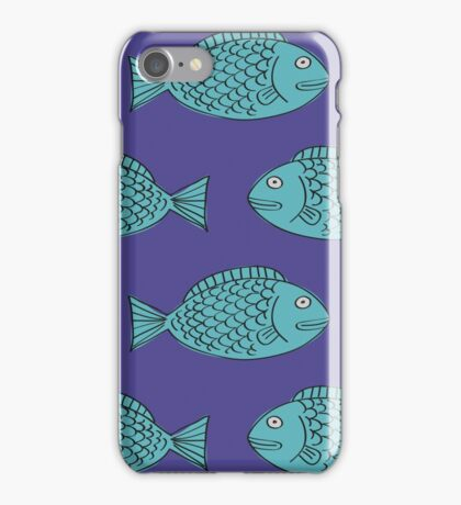 Retro Fish iPhone Case/Skin