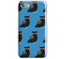Folksy Owl iPhone Case/Skin