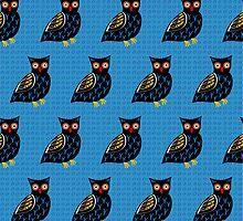 Folksy Owl by dukepope