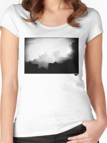 sky Women's Fitted Scoop T-Shirt