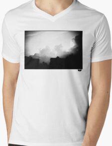 sky Mens V-Neck T-Shirt