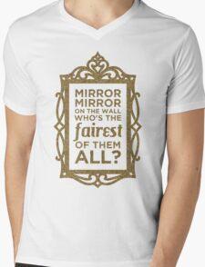 Mirror Mirror On The Wall Mens V-Neck T-Shirt