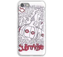 S is for Submarine iPhone Case/Skin