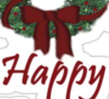 Happy Holidays T-Shirt ~ Simple Design Sticker