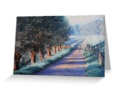 By Road of Your Dream. Monet Style Greeting Card