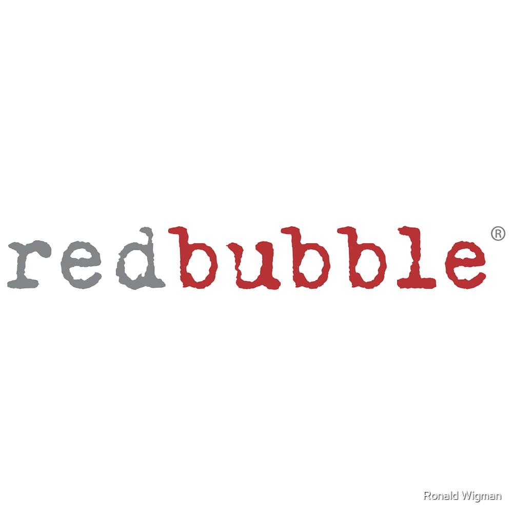 redbubble logo by Ronald Wigman