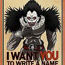 Write a name. by J.C. Maziu
