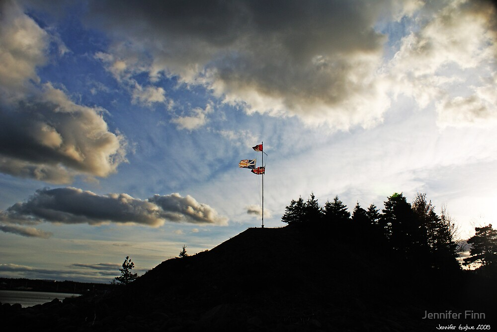 Three Flags by Jennifer Finn