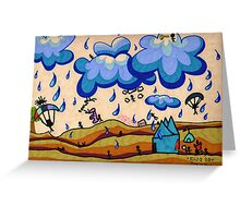 Mother Earth, Father Sky Greeting Card
