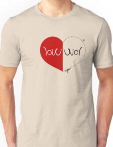 WAR / LOVE ambigram T-Shirt