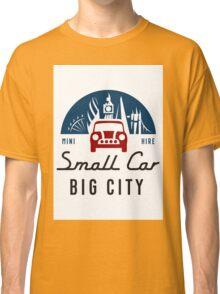 smallcarBIGCITY Logo Classic T-Shirt