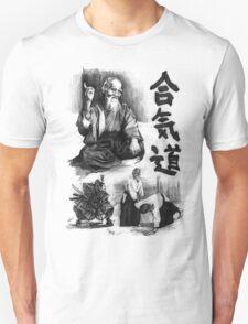 Morihei Uyeshiba  Unisex T-Shirt