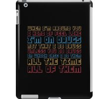Scott Pilgrim is On Drugs iPad Case/Skin