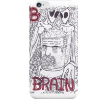 B is for Brain iPhone Case/Skin