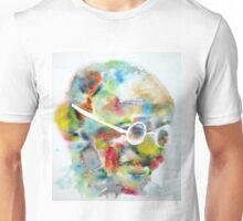 MAHATMA GANDHI - watercolor portrait Unisex T-Shirt