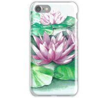 Floating  Water Lilies iPhone Case/Skin