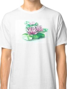 Floating  Water Lilies Classic T-Shirt