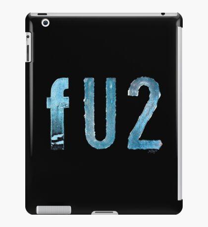 FU2 iPad Case/Skin