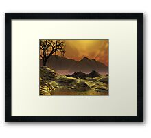 Issues - Global Warming1 Framed Print