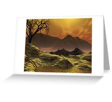Issues - Global Warming1 Greeting Card