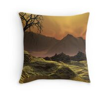 Issues - Global Warming1 Throw Pillow