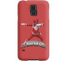 Mighty Morphin Red Ranger - It's Morphin Time! Samsung Galaxy Case/Skin