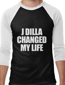 J DILLA CHANGED MY LIFE Men's Baseball ¾ T-Shirt