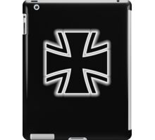 Germany, German, Iron Cross, Federal Defence, Bundeswehr Kreuz, Black iPad Case/Skin