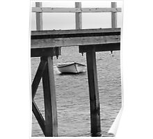 Lone Dinghy Poster