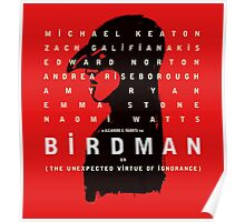 Birdman poster Poster