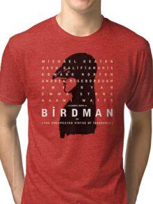 Birdman poster Tri-blend T-Shirt