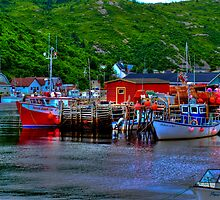 Ships in THe Harbour by PFrogg