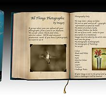 ALL THINGS PHOTOGRAPHIC BOOK by imagetj